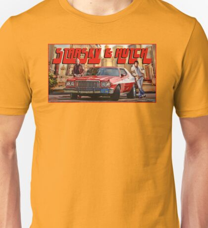 Starsky and Hutch Unisex T-Shirt