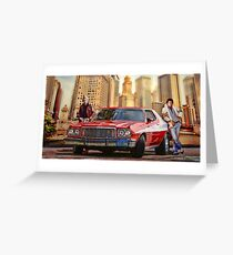 Starsky and Hutch Greeting Card