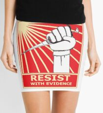 Scientists Resist, With Evidence! Best Tshirt Mini Skirt