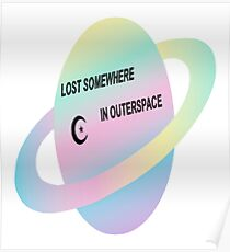 LOST SOMEWHERE IN SPACE  Poster