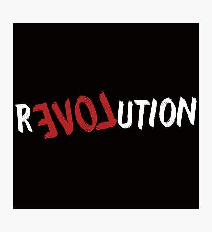 Revolution of Love Photographic Print