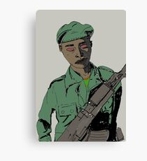 Soldier Boy Canvas Print