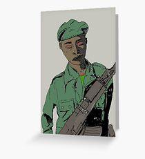 Soldier Boy Greeting Card