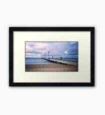 Sunrise at Frankston Pier Framed Print