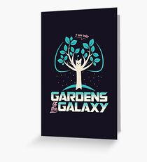 Gardens Of The Galaxy Greeting Card