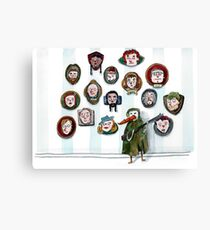Whatever Happened to the Peanut Gallery? Canvas Print