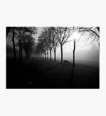 N°254: Street photography Black and White Photographic Print