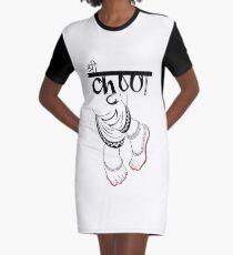 3f88a613 LORD SHRI KRISHNA FEET Graphic T-Shirt Dress