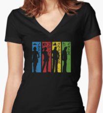 XV Women's Fitted V-Neck T-Shirt