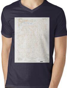 USGS TOPO Map Colorado CO Bighole Butte 400127 1969 24000 Mens V-Neck T-Shirt