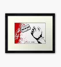 American Excess - Swipe your card. Framed Print