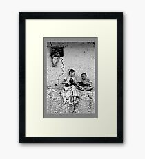 Happy they are Framed Print