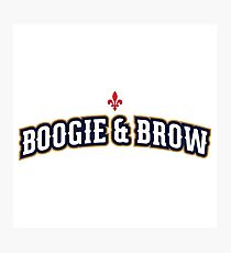 Boogie & Brow Photographic Print
