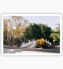 Taiwan Scenery - Taichung Confucius Temple Bridge Sticker