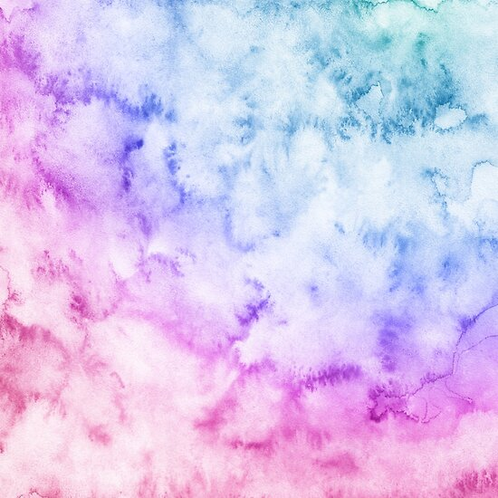 quotwatercolor background soft blue pink purplequot posters