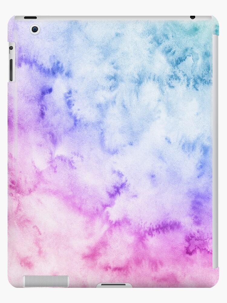watercolor background soft blue pink purple by maria samburova
