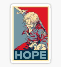 [Version 4/4] Future Trunks Hope Poster Sticker