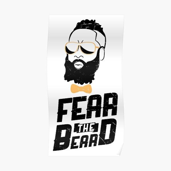 James Harden Fear the Beard Poster
