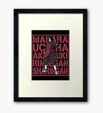 Madara Uchiha Framed Print