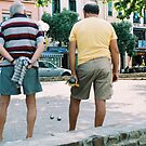 Pétanque by Louise Green