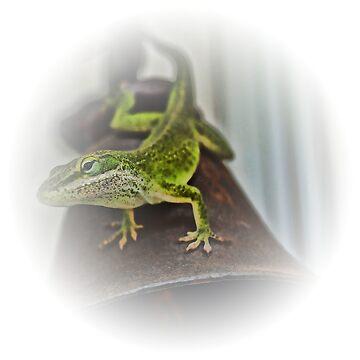 Reptilian Doorman by JoeBledsoe