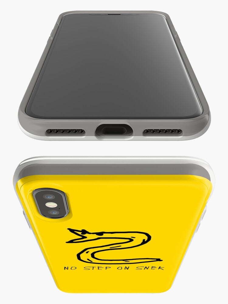 Alternate view of Don't Step on Snek iPhone Cases & Covers