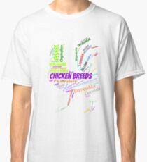 Chicken Breeds Classic T-Shirt
