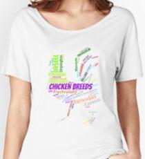 Chicken Breeds Women's Relaxed Fit T-Shirt