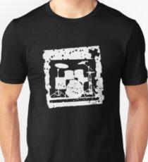 Drumkit Stencil Unisex T-Shirt