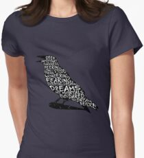 Quoth the Raven Women's Fitted T-Shirt