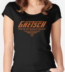 that great gretsch sound Women's Fitted Scoop T-Shirt