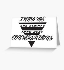 Geeky Wise Funny Smart Sticker Greeting Card