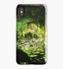The Walls of Moria (Riddle upon the door) Variation iPhone Case/Skin