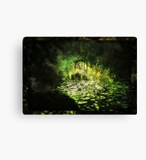 The Walls of Moria (Riddle upon the door) Variation Canvas Print