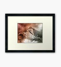 saint vincent flou Framed Print