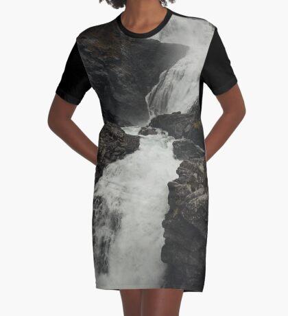Wildwasser T-Shirt Kleid