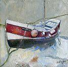 """Rose of Egland 12 x12 """" series by Sue Nichol"""
