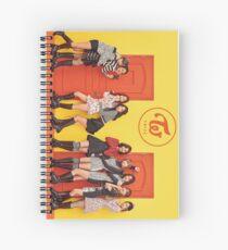 Twice Knock Knock Spiral Notebook