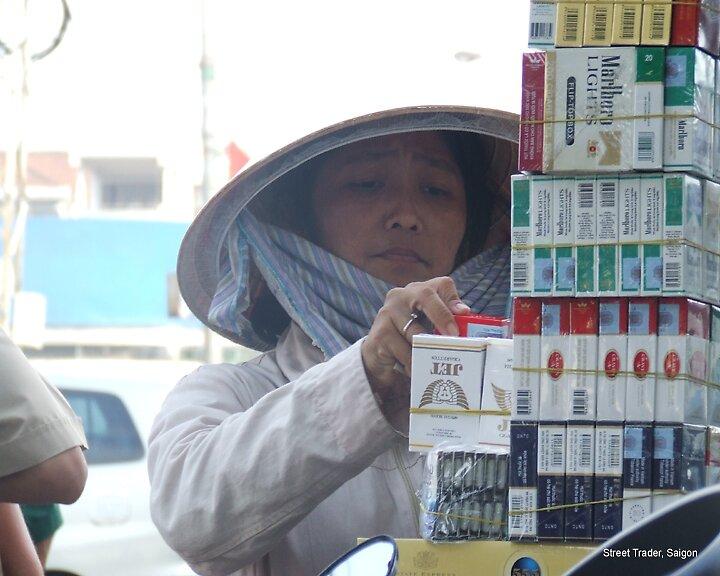 Street Trader, Saigon by alanlowney