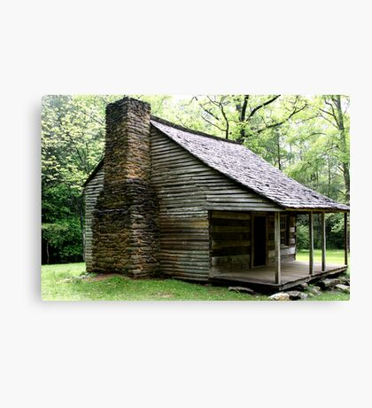 Carter Shields Cabin VI Canvas Print