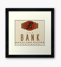 The Bank Hotel and Casino Framed Print