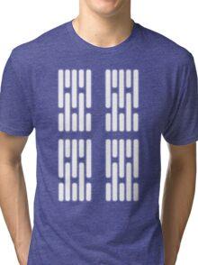 Death Star Interior Lighting Tri-blend T-Shirt