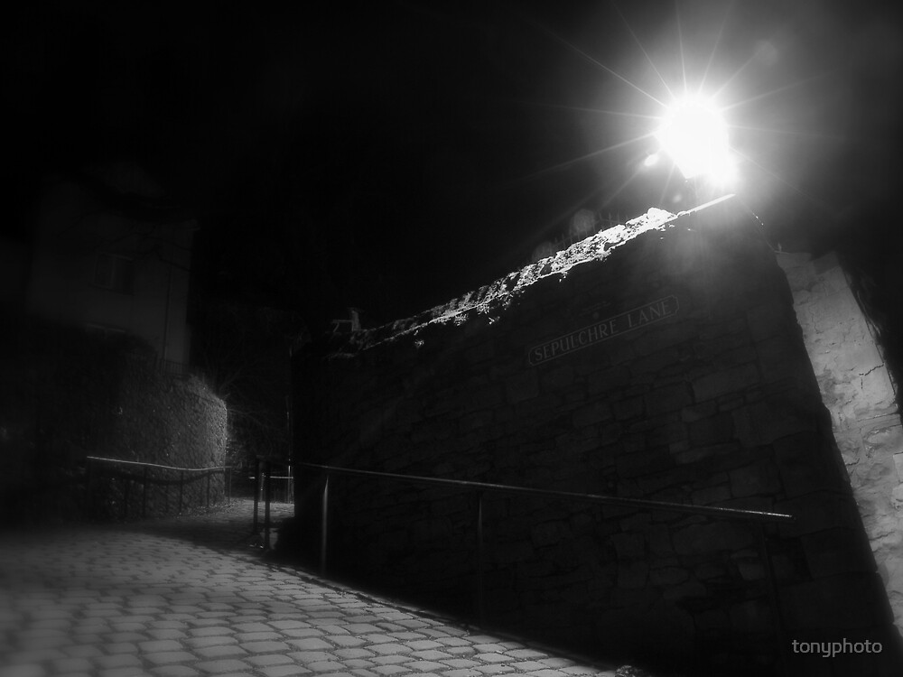 Sepulchre Lane by tonyphoto
