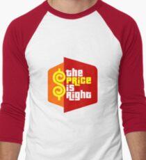 PLINKO THE PRICE IS Men's Baseball ¾ T-Shirt