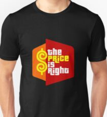 PLINKO THE PRICE IS Unisex T-Shirt