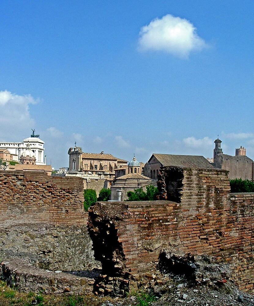 Ruins II by Erika Benoit