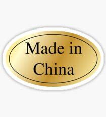 Made in China Sticker Sticker