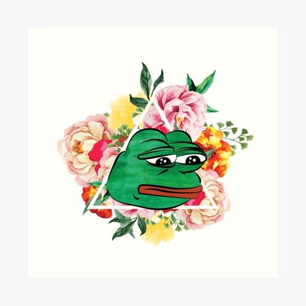 Pepe The Frog Art Print