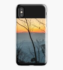 Megalong sunset iPhone Case/Skin