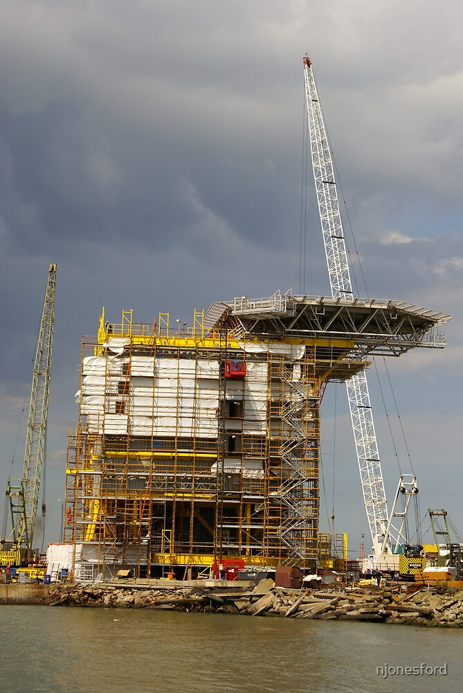 A oil rig makeover by njonesford